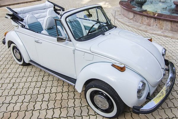 BT017 1979 VW Beetle Karman Blanco