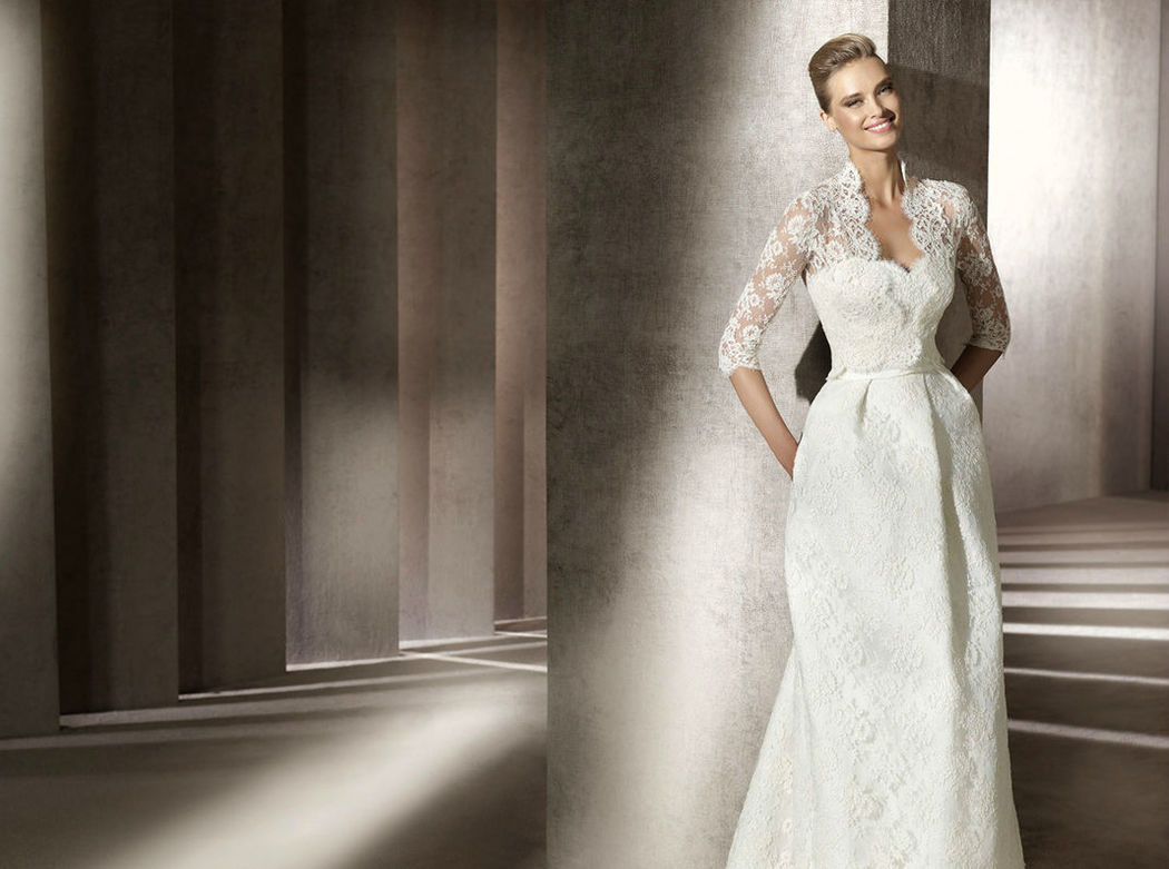 Beispiel: Große Auswahl an Brautkleidern, Foto: Salon.
