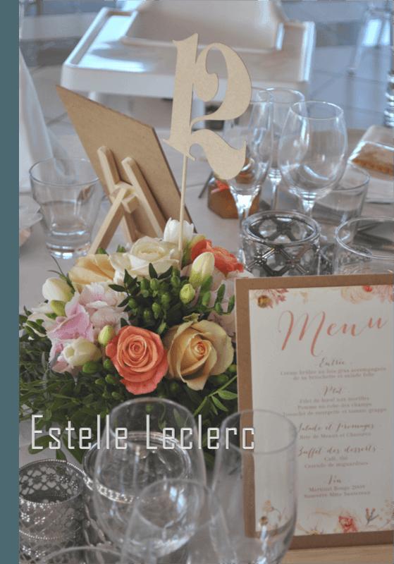 Centre de table/ Estelle Leclerc