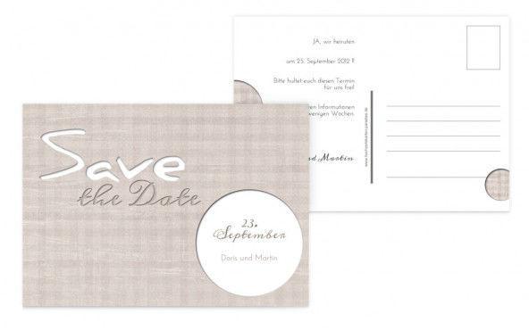 Beispiel: Bestimmen Sie Ihr eigenes Design, Foto: Hochzeitskarten- Paradies.