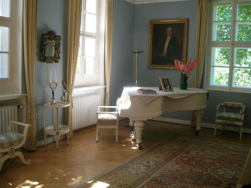 Beispiel: Klaviersalon, Foto: Gut Sennickerode.