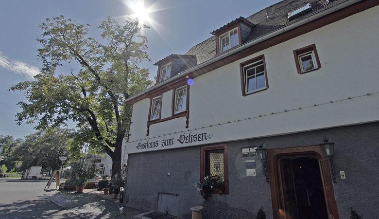 Beispiel: Außenansicht, Foto: Gasthaus zum Ochsen.