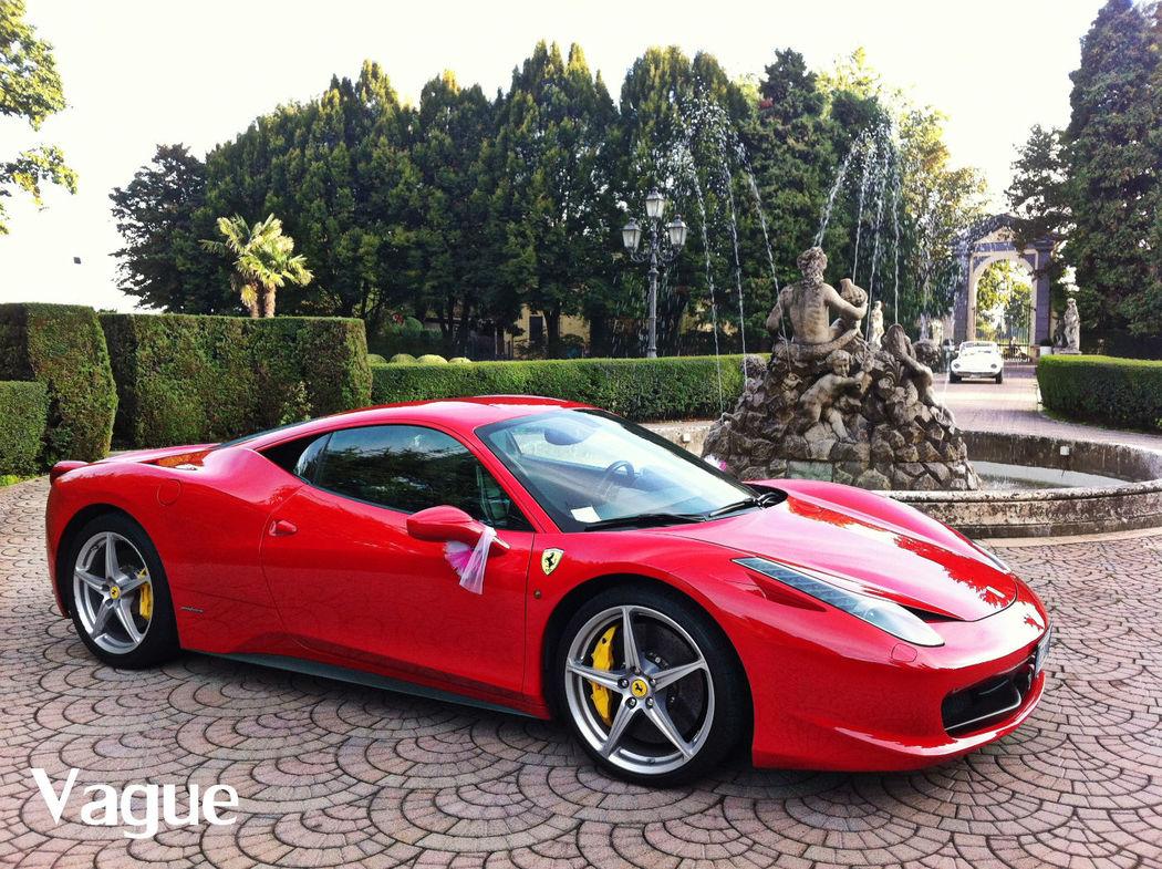 Ferrari 458 Italia Noleggio Matrimoni Monza Como Lecco Milano Bergamo