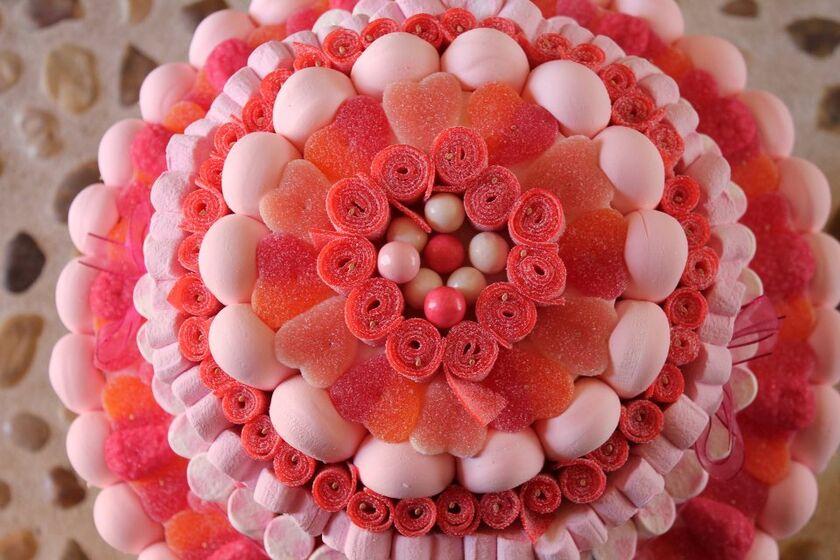 Mi mundo de las golosinas Tarta de boda de golosinas