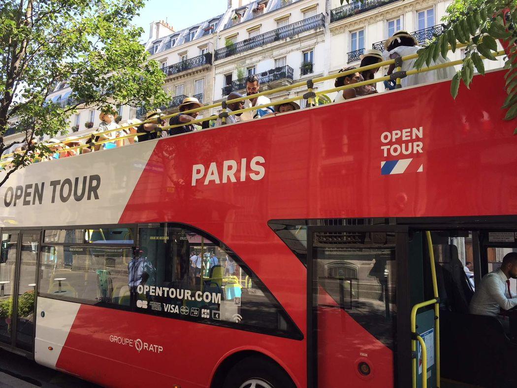 OPEN TOUR - Le bus de vos invités !