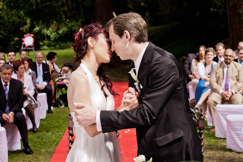 Hochzeit in Schloss Ernegg. Beispiel: Fotos von der Trauung, Foto: myshoot.