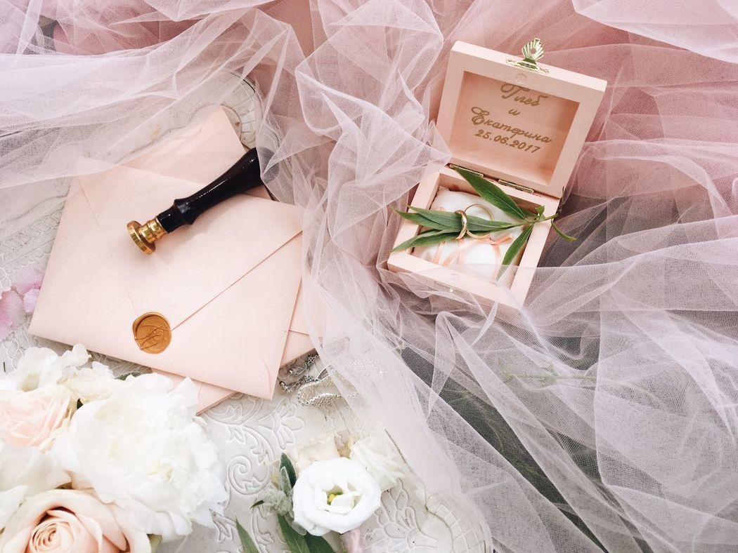 Свадебные шкатулки Onehappymoment