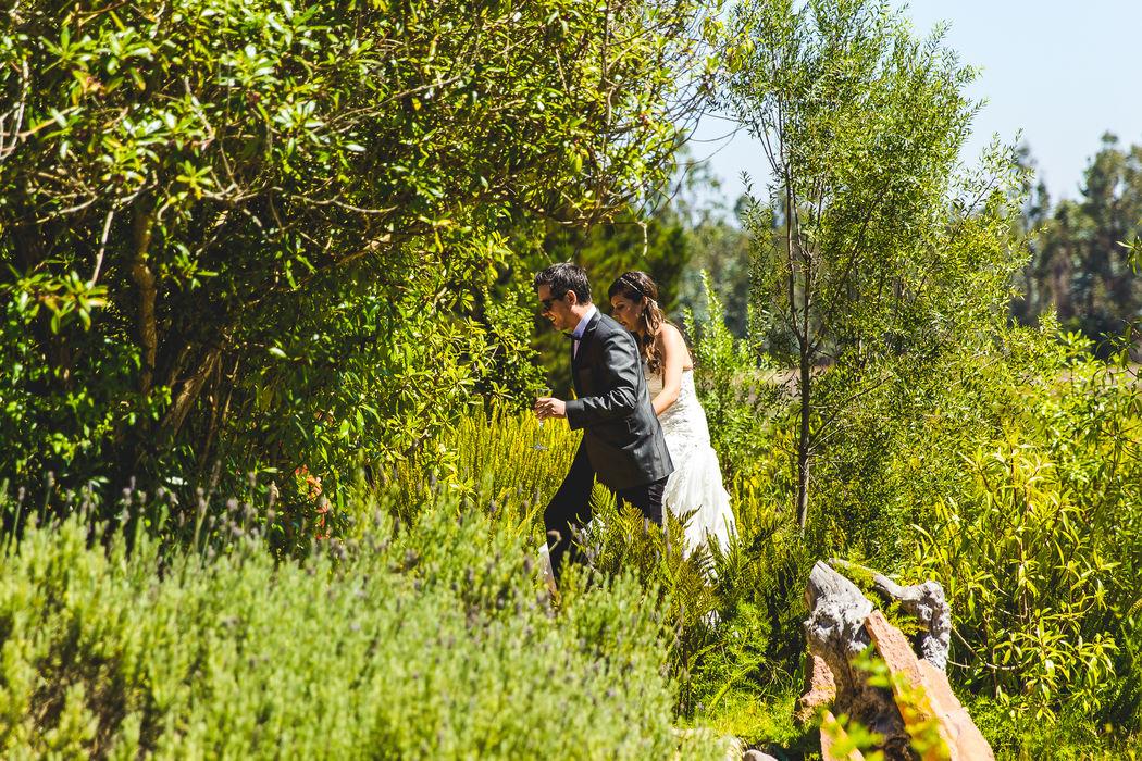 Daniela Oyarzún y Joaquín Trujillo en La Arbequina Foto: Inspira Fotografía Documental