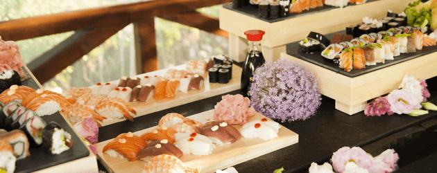 SushiKushi Japoński Stół na Weselu