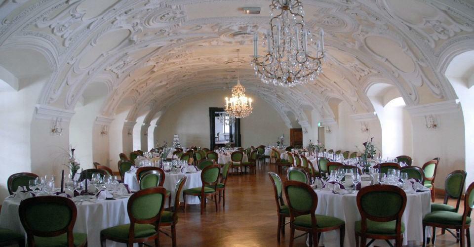 Beispiel: Prälatensaal, Foto: Kartause Gaming.