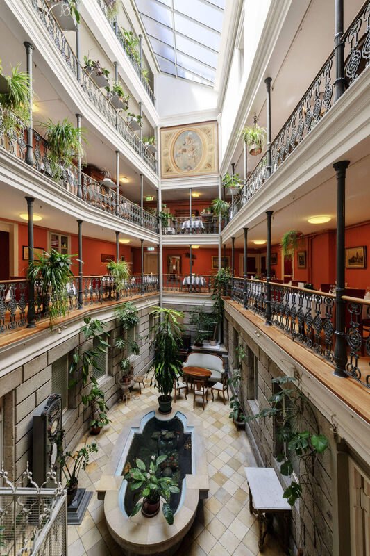 Atrium Hotel Restaurant Blume Baden
