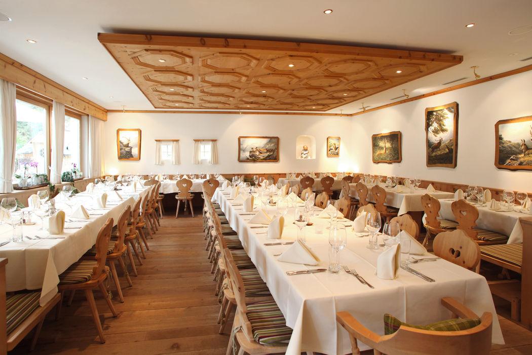 Davoserstube 60 Sitzplätze mit Schwingerstübli kombinierbar