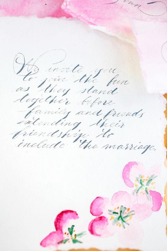 Savkina calligraphy