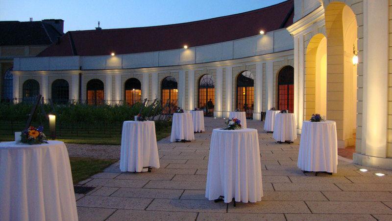 Beispiel: Flair am Abend, Foto: Schloss Schönbrunn.