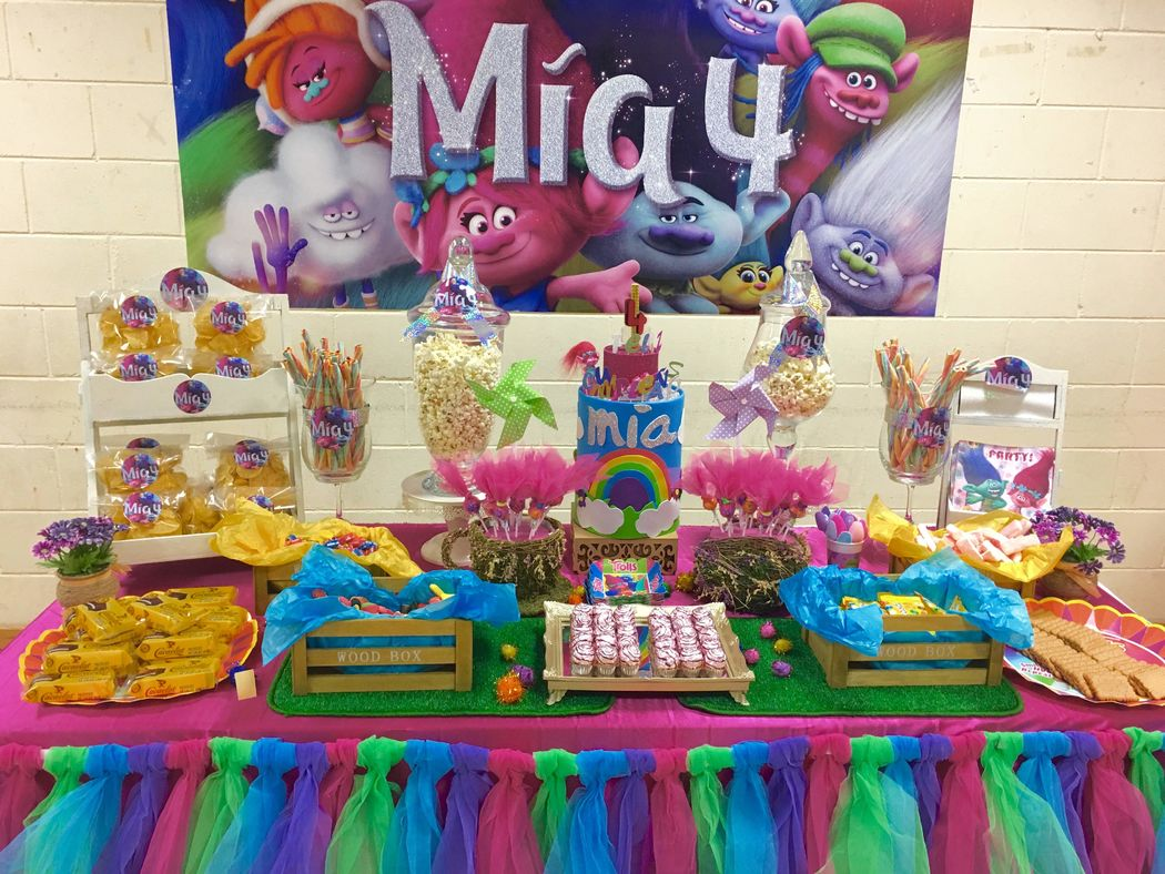 Te Alquilo mi Rincón - Mesas dulces