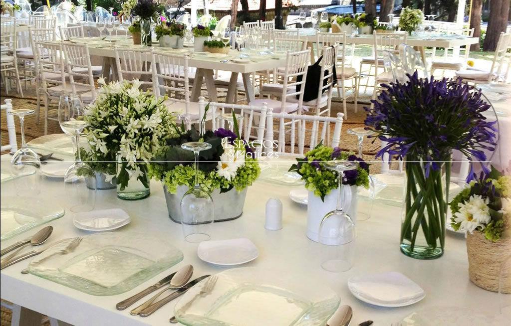 Espacios y Matices Eventos, empresa de decoración y flores para bodas, en el DF