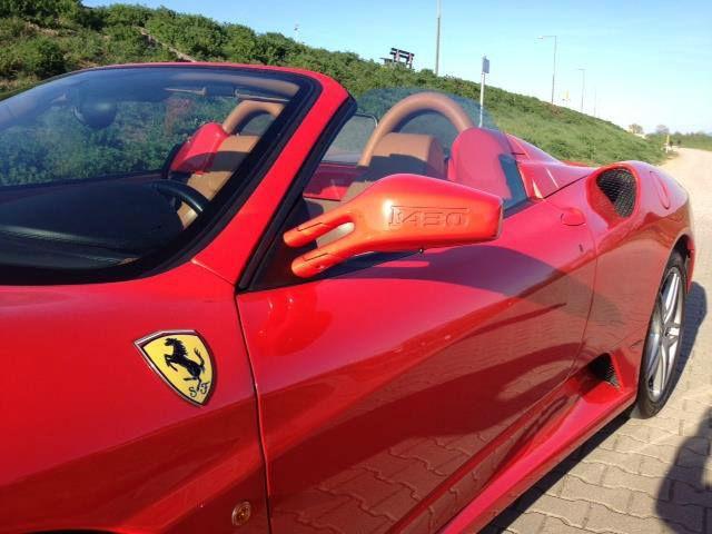Beispiel: Ihr Ferrari als Hochzeitsauto, Foto: Mille Miglia Ferrari Vermietung.