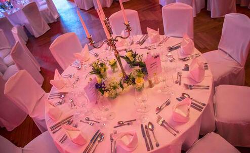 Beispiel: Tischdekoration, Foto: eventt.