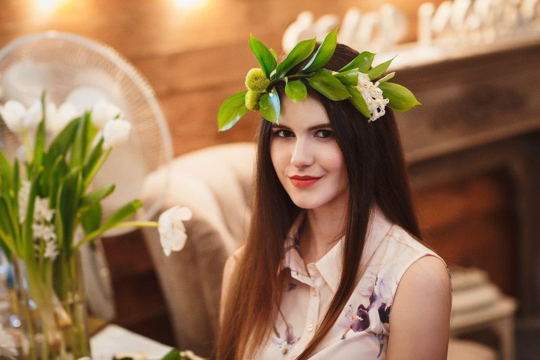 Визажист Ксения Егорова