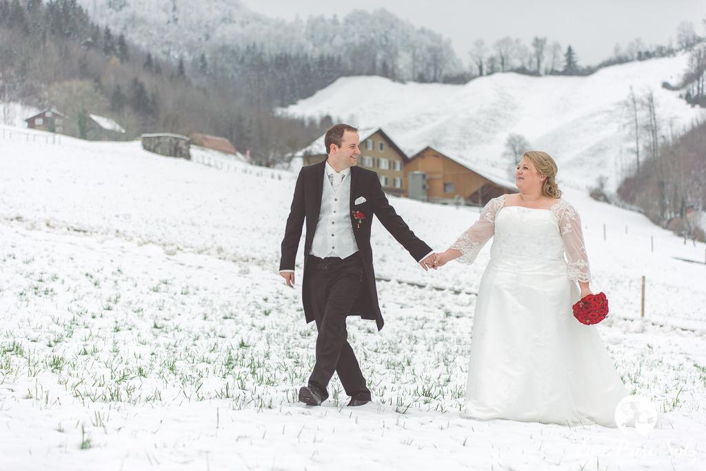 Hochzeitsreportage: Winterhochzeit