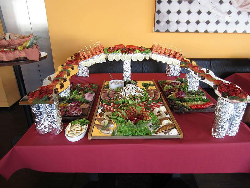 Beispiel: Buffet, Foto: Mat's Cafe und Bistro.
