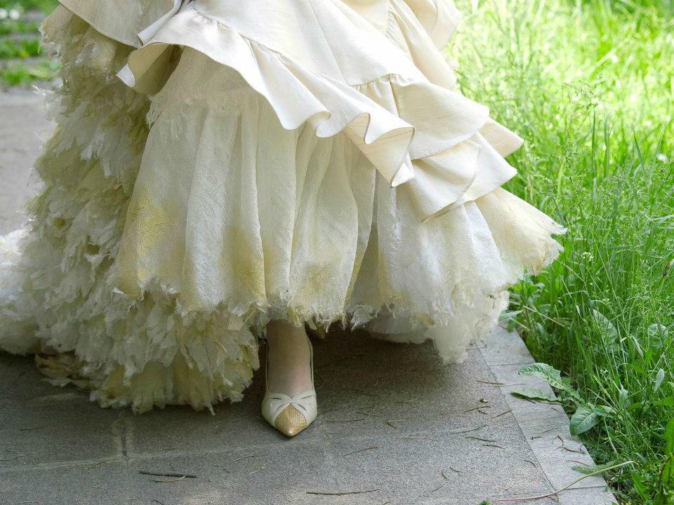 Beispiel: Beratung bei der Wahl des Brautkleides, Foto: Trau Atelier.