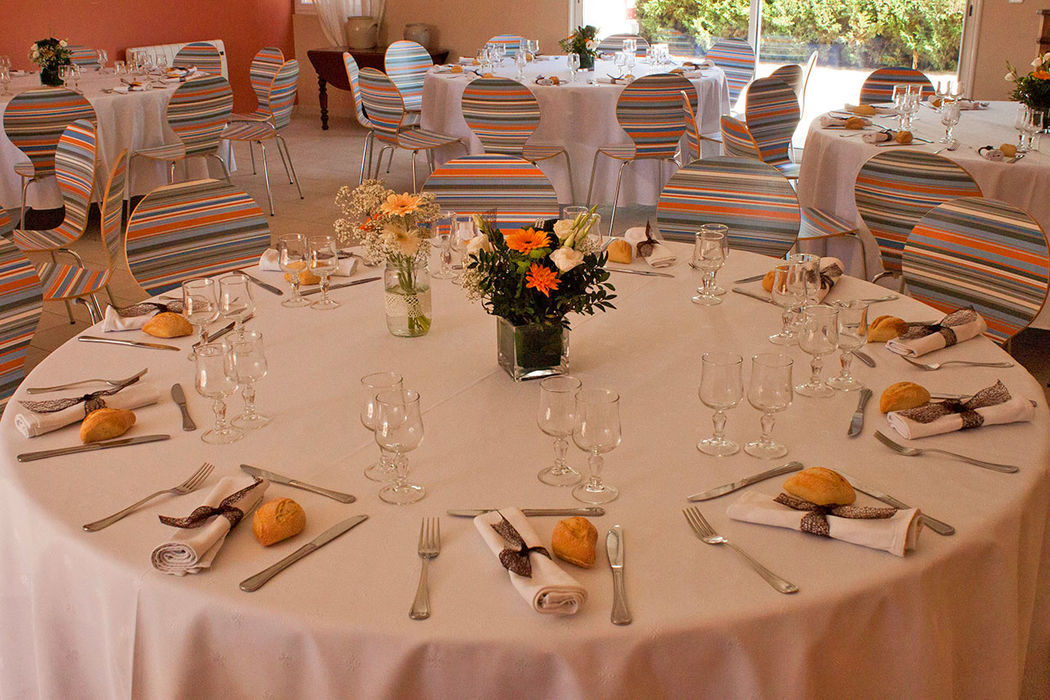 Table mariage 8/10pers (MAI 2016)