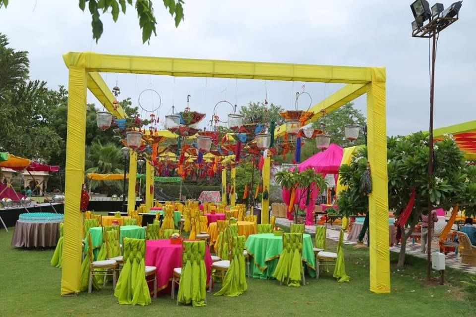 P Square wedding & Events