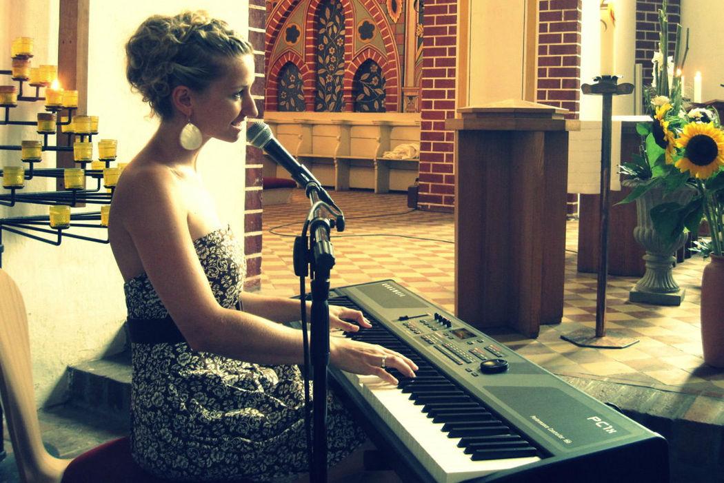 Sängerin Anne Fraune
