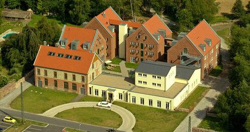 Beispiel: Luftaufnahme, Foto: Landhotel Beverland.