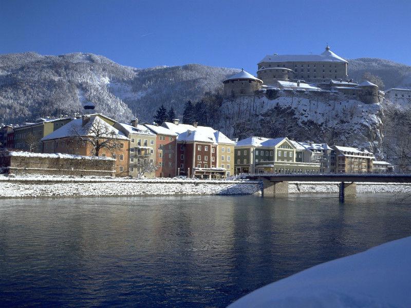 Foto: Festung Kufstein im Winter.