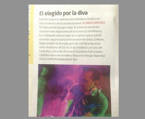 En la revista Elenco lo catalogan como maestro de la consola y lo califican como uno de los show men mas importantes del país