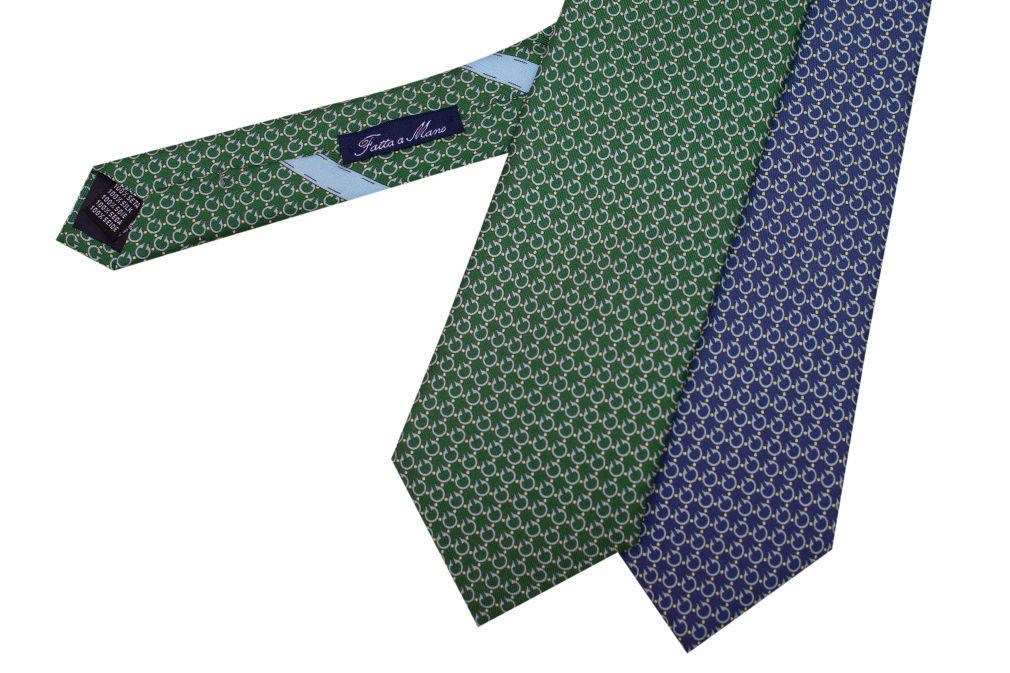 Corbatas estampadas Made in Italy