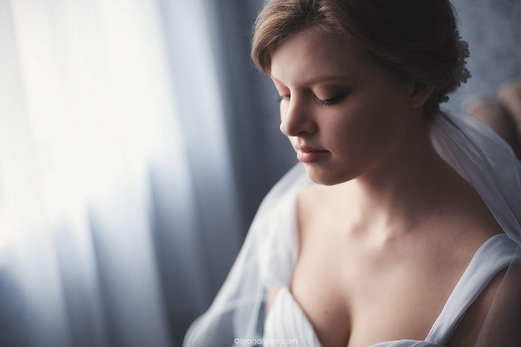причёска и макияж для Дашеньки фотограф - Ольга Галянт
