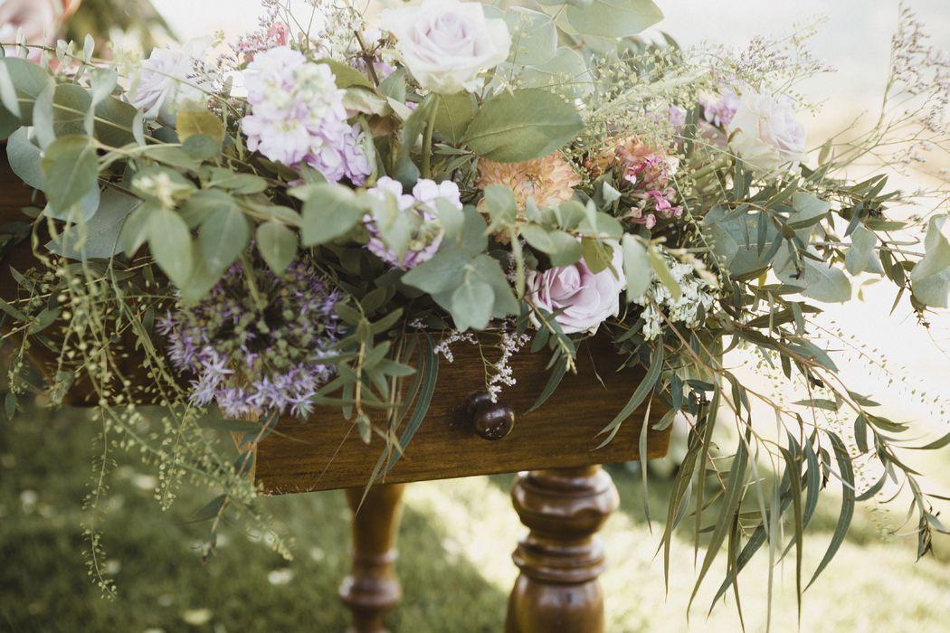 La mesa de ceremonia