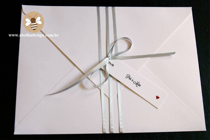 Coleção Quero ser Feliz - Modelo Envelope Bico