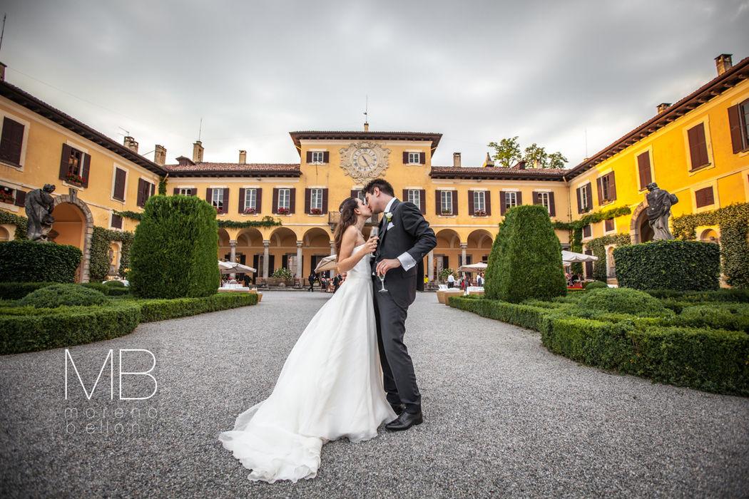 Moreno Belloni brindisi a Villa Orsini