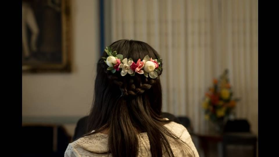 Tocados para novias Claudia Valenzuela J