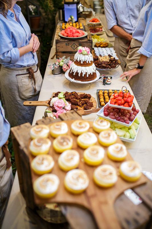 Buffet de postres - Catering Bodas 21 de Marzo
