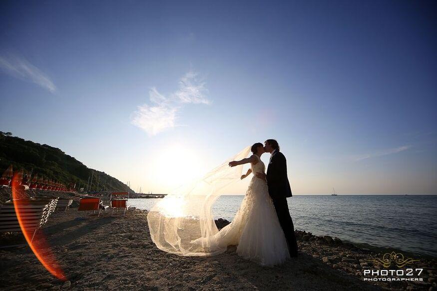 Matrimonio spiaggia Gabicce mare