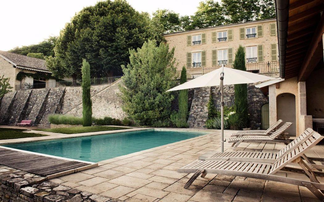 Domaine de vavril - la piscine
