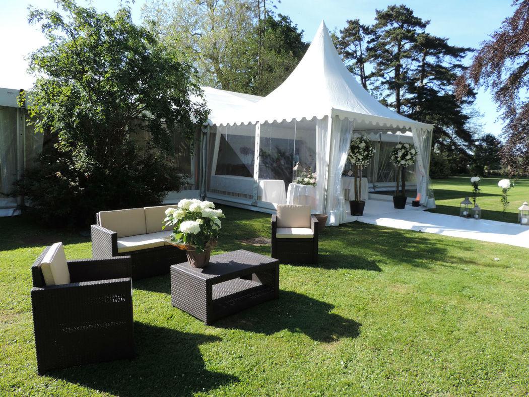 Mariage sous tente