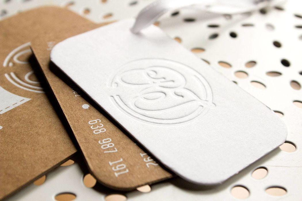 Invitaciones tarjetas de contacto