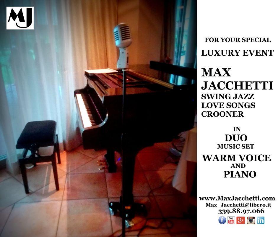 MAX JACCHETTI Swing Jazz Love Songs Crooner