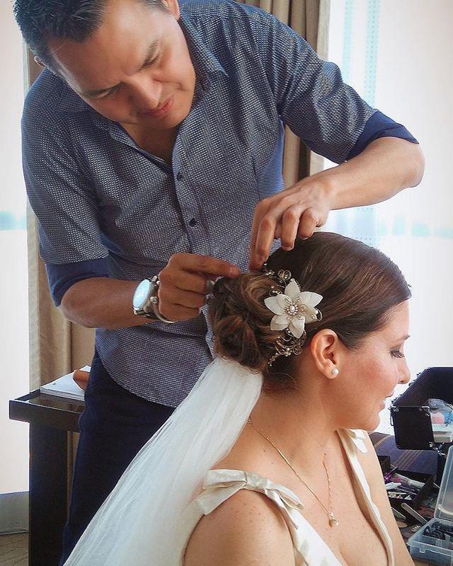 Jose Antonio Rivera - Peinado y Maquillaje Profesional