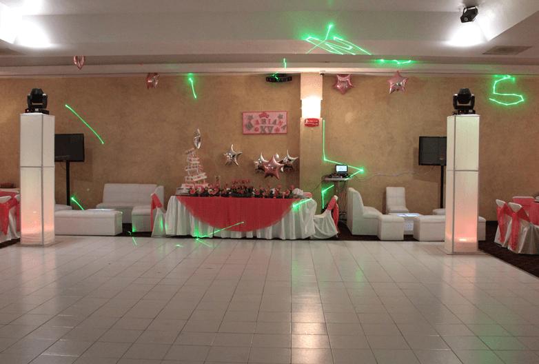 Salón Le´Mar en el DF