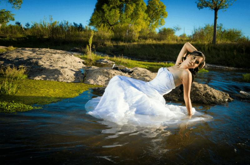 Fotografía Trash The Dress. Foto Alex Mendoza