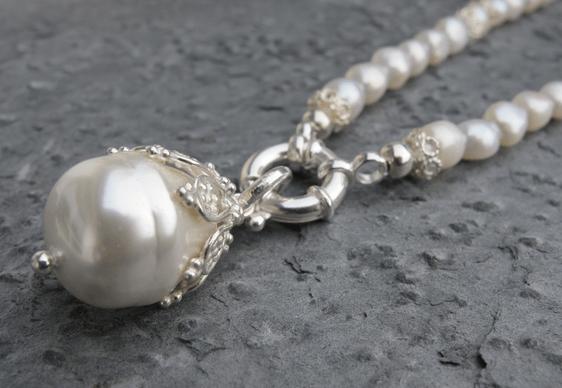 Perlenkette Giubila von perlaprincipessa