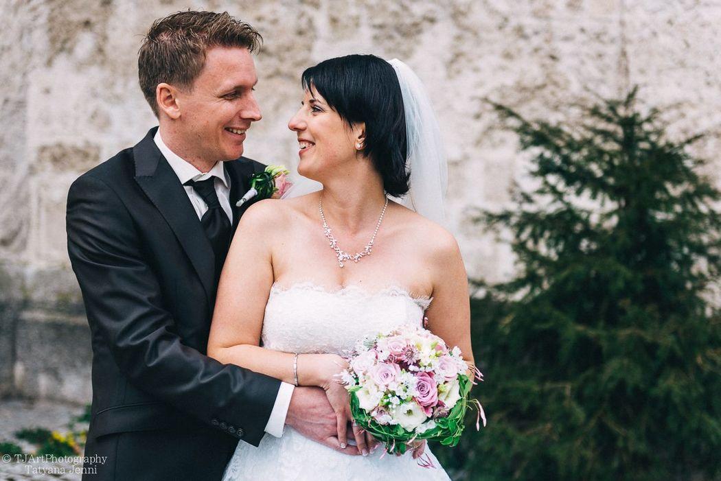 Hochzeit in der Evangelisch-reformierte Kirche in Rüti im April