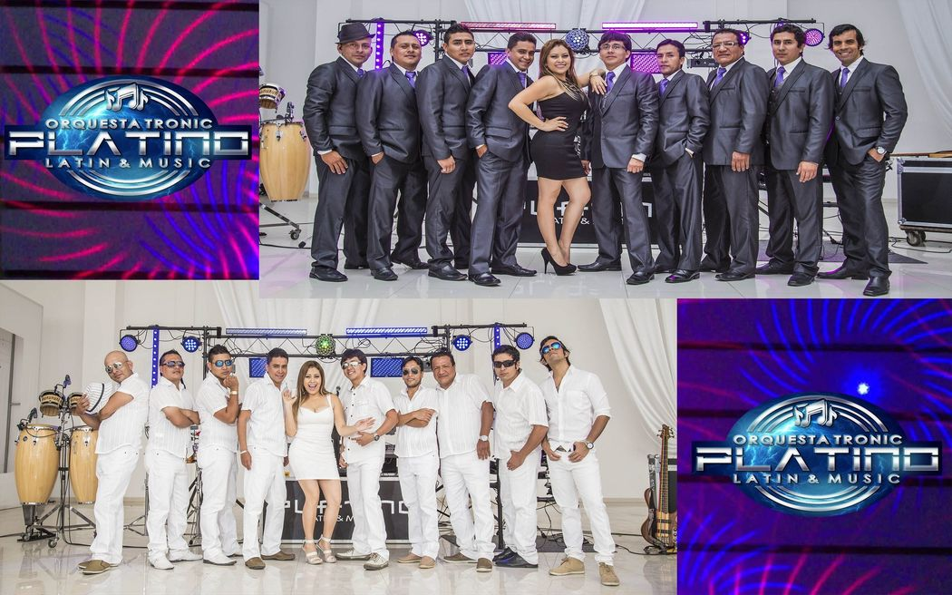 Integrantes PLATINO Latin&Music